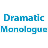definition of dramatic monologue in literary terms