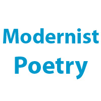 examples of modernism in literature